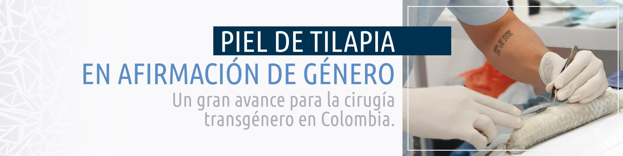 PIel de Tilapia | CECM Colombia - Dr. Álvaro Hernán Rodriguez